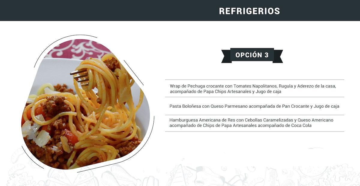 Refrigerios 2