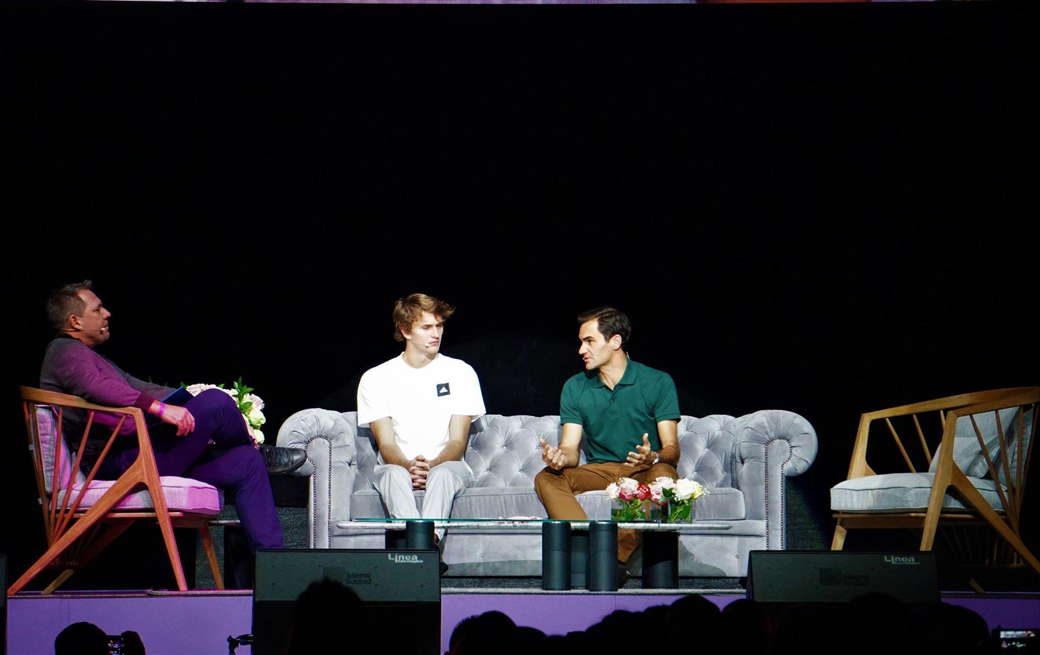 Conversatorio Roger Federer 1