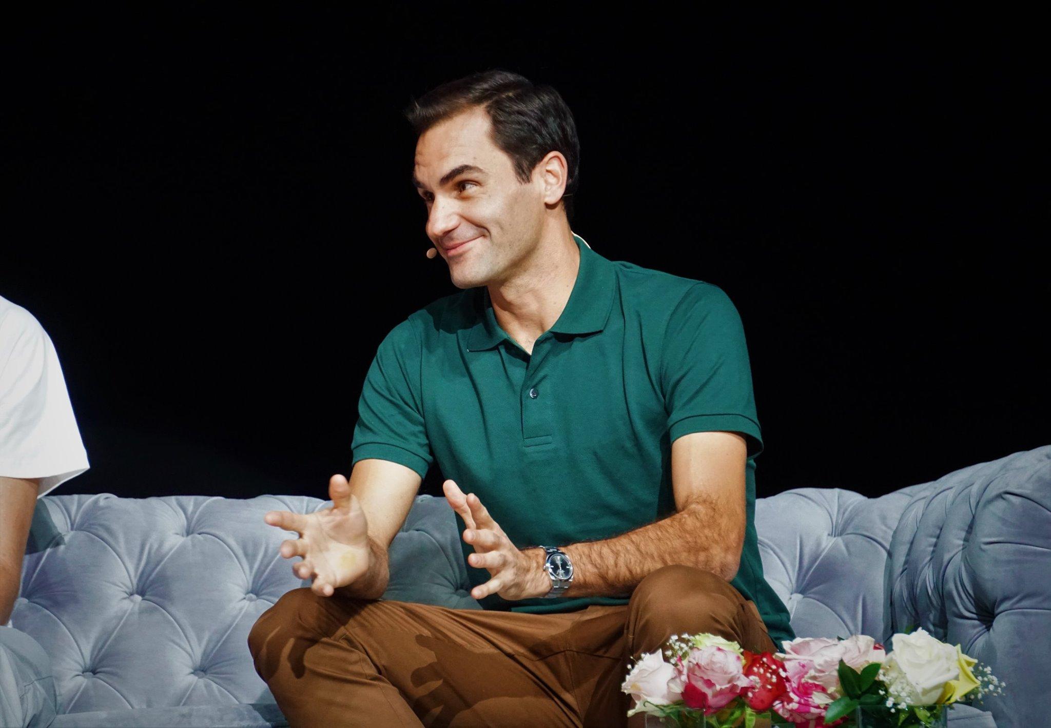 Conversatorio Roger Federer 2