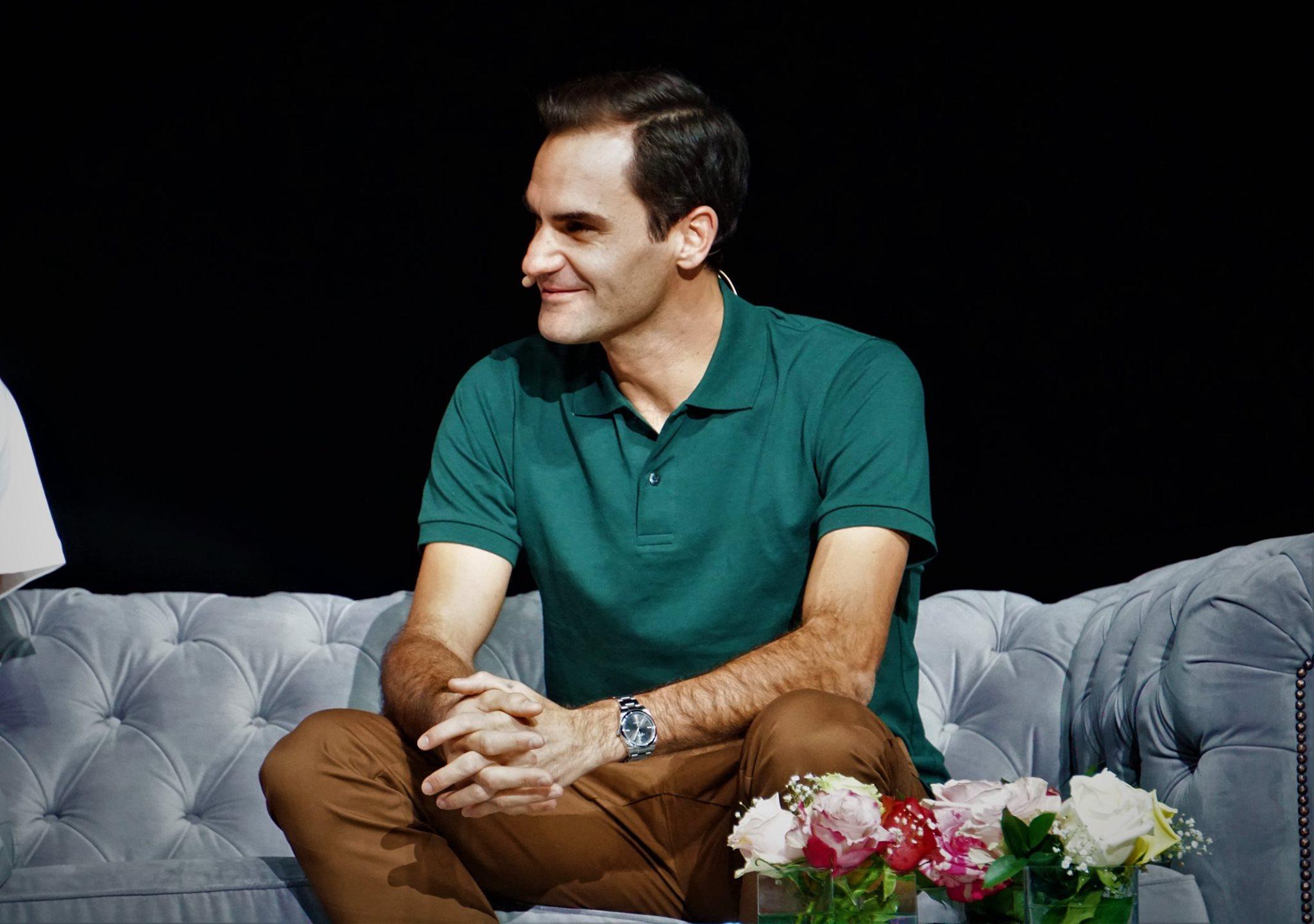 Conversatorio Roger Federer 3