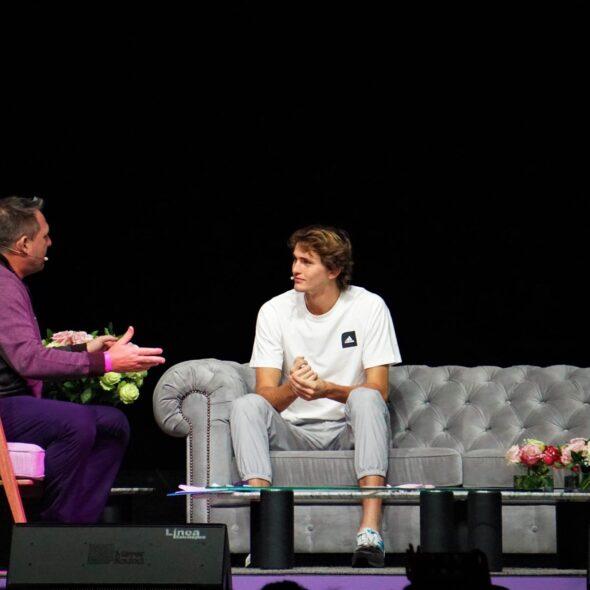 Conversatorio Roger Federer